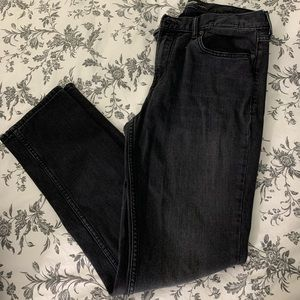 Old navy faded black jeans